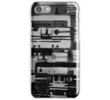 Mixed Tape B&W  iPhone Case/Skin