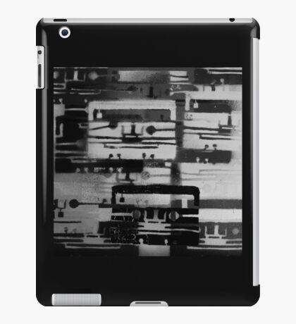 Mixed Tape B&W  iPad Case/Skin