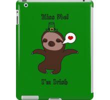 Kiss Me! I'm Irish iPad Case/Skin