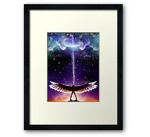 Celestial Unrest Framed Print