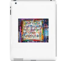 dear child iPad Case/Skin