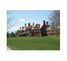 Newport, Rhode Island Mansion Art Print