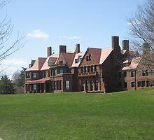 Newport, Rhode Island Mansion by Cawritergirl