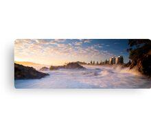 Mount Maunganui Panoramic Canvas Print
