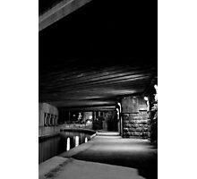 Canal Bridge Photographic Print