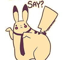 What Does The Pika Say? by zerojigoku