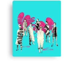 donne ribelle Canvas Print