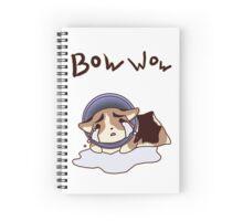 Cone of Shame Spiral Notebook