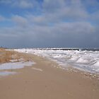 Lake Huron in January by MichiganGirl