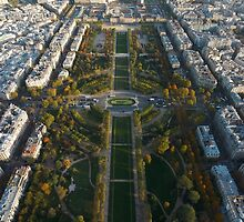 Paris, From the Top of the Tower by Greg Webb
