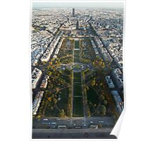 Paris, From the Top of the Tower Poster