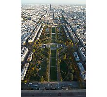 Paris, From the Top of the Tower Photographic Print