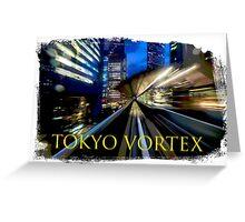 Tokyo Vortex Greeting Card