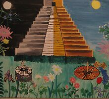 Mexican Pyramid by Cawritergirl