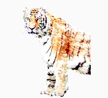 Tiger in winter Unisex T-Shirt