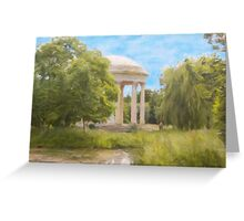 Temple of Love Greeting Card