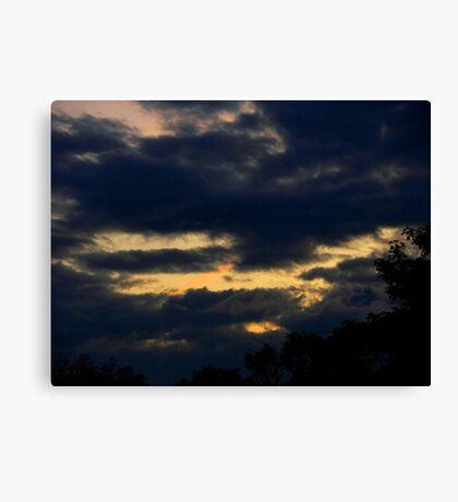 Thunder Sky Canvas Print