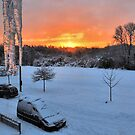 Icicle sunrise by relayer51