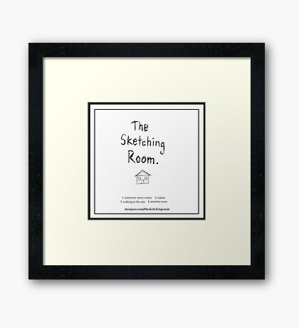 The Sketching Room (demo cover) Framed Print