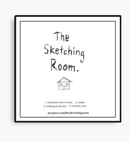The Sketching Room (demo cover) Canvas Print