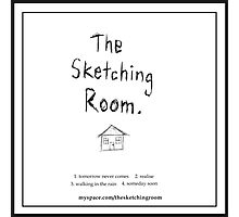 The Sketching Room (demo cover) Photographic Print