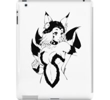 9 Tail Fox Girl iPad Case/Skin