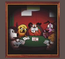 Dogs Playing Poker by allanime01