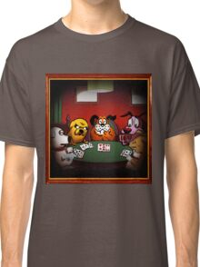 Dogs Playing Poker Classic T-Shirt