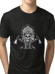 Skull Chief Tri-blend T-Shirt