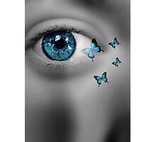 Blue Dreaming Photographic Print