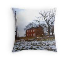 Grand Old Farmstead Throw Pillow