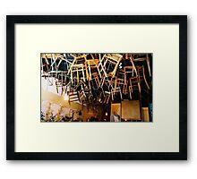 Poppins Cafe Framed Print