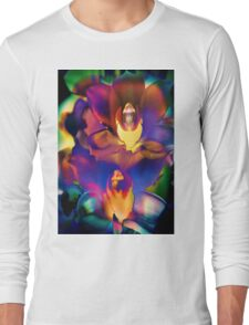 4408 Psychedelic Orchids  Long Sleeve T-Shirt