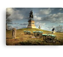 The Battlefield at Gettysburg Canvas Print