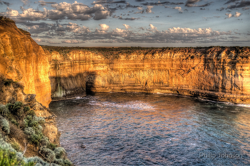 The Winds Of Time - Great Ocean Road , Victoria , Australia - The HDR Experience by Philip Johnson