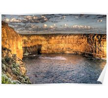 The Winds Of Time - Great Ocean Road , Victoria , Australia - The HDR Experience Poster