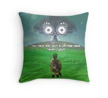 The Legend of Zelda Majora's Mask Terrible Fate Throw Pillow