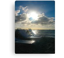 I ordered you something tall and tropical from the Bar Canvas Print