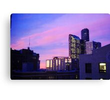 Stellar Seattle Sunrise Canvas Print