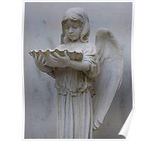Baptismal Angel Poster