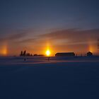God's Winter Rainbow. by maragoldlady
