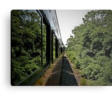 Rolling Down The Tracks - Cape Cod © 2009 *featured Metal Print