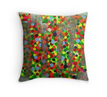 A Colourful Title Throw Pillow