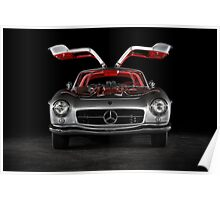 1957 Mercedes-Benz 300SL Gullwing Poster