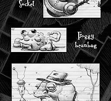 One Page, many doodles by Mike Cressy