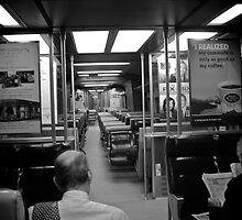 Commuters Of Metro North Railroad - © 2009 by Jack McCabe