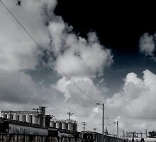 train tracks to nowhere by Mark Malinowski
