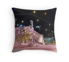 Federation Square Lightshow, Melbourne Throw Pillow