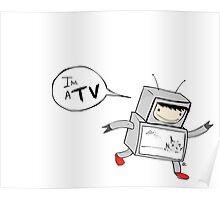 I'm a TV Poster