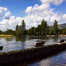 The River Teith by Lynne Morris